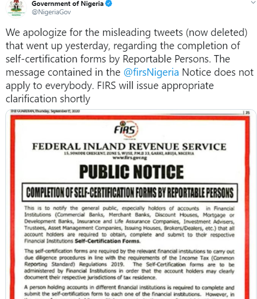 The Federal Government of Nigeria