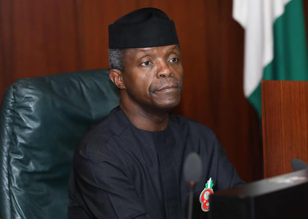 The vice president of nigeria